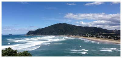 Tairua is a white sandy beach and village on the Coromandel Peninsula, near to Hot Water Beach, Hahei and Pauanui